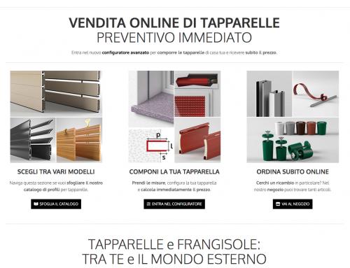 è online il sito di tapparelleitaliane.it
